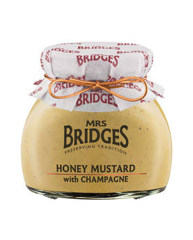 Honey Mustard & Champag Mrs Bridges 200g - Mustards, chutneys and mayonnaise - MB8460 - 1