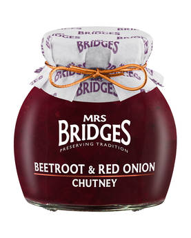Beetroot & Red Onion Chutney Mrs Bridges - Mustards, chutneys and mayonnaise - MB8510 - 1