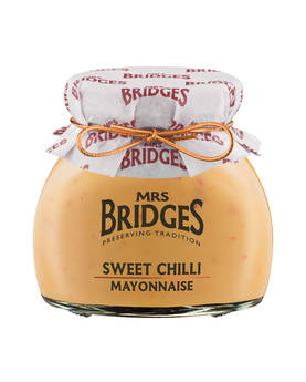 Sweet Chilli Mayonnaise Mrs Bridges 190g - Mustards, chutneys and mayonnaise - MB9660 - 1