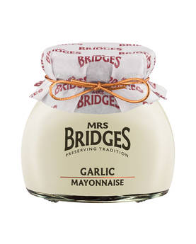 Garlic Mayonnaise Mrs Bridges 180g - Mustards, chutneys and mayonnaise - MB8690 - 1