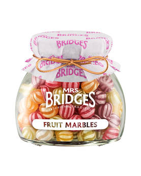 Fruit Marbles Mrs Bridges 155g - Sweets - MB2141 - 1