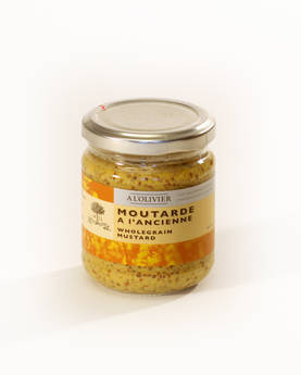 Mustard Ancienne 200g - Mustards, chutneys and mayonnaise - AOLE101 - 1