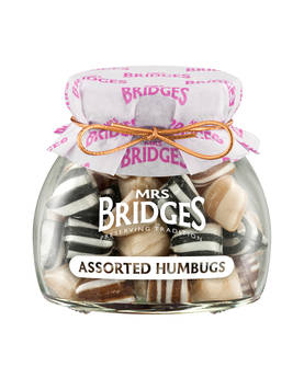 Assorted Humbugs Mrs Bridges 150g - Sweets - MB2012 - 1