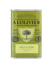 Garlic & Thyme Olive Oil 250ml - Olive oils - AOLH502 - 1
