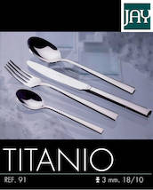 Cutlery Set Jay Titanio (24 pieces) - Tableware - JAY16091524 - 1