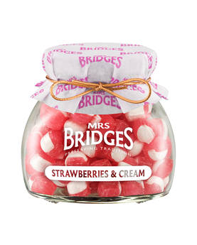 Strawberry Cream Sweets Mrs Bridges 155g - Sweets - MB2144 - 1