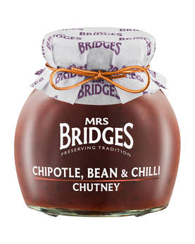 Chipotle, Bean & Chili Chutney Mrs B - Mustards, chutneys and mayonnaise - MB8514 - 1