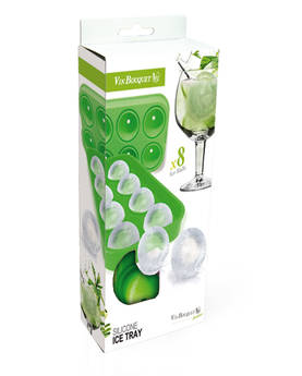 Ice Tray 8 rocks Vin Bouquet - Ice Buckets and Ice Accessories - VNBQFIK144 - 1