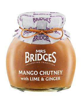Mango Chutney Mrs Bridges 290g - Mustards, chutneys and mayonnaise - MB855 - 1