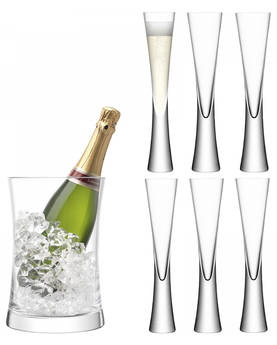 Serving set LSA Moya - LSA Champagne Glasses - MV25 - 1