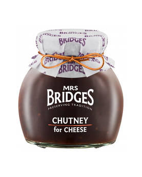 Chutney for Cheese Mrs Bridges 300g - Mustards, chutneys and mayonnaise - MB8525 - 1