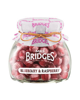 Blueberry Raspberry Sweets Mrs B 155g - Sweets - MB2136 - 1