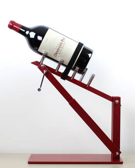 Decanting Cradle VCANTER Rustico 6 - Wine Pouring Devices - VCNTRU06 - 1