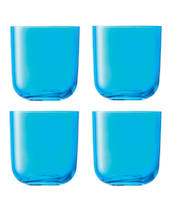 Tumbler LSA Centro Turquoise (x4) - Water Glasses - G977-15-947 - 1