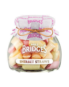 Sherbet Straws Mrs Bridges 155g - Sweets - MB2157 - 1