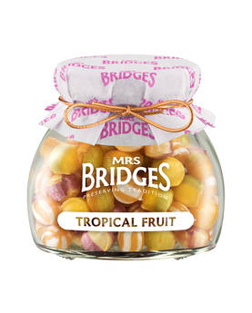 Tropical Fruit Sweets Mrs Bridges 155g - Sweets - MB2138 - 1