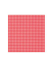 Red and White Checkered Napkins - Serviettes and napkins - T379308 - 1