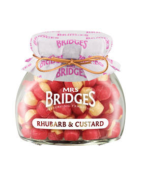 Rhubarb Custard Sweets Mrs Bridges 155g - Sweets - MB2149 - 1