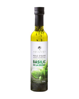 Extra Virgin Olive Oil Basil 250ml - Olive oils - AOLH5051DAY - 1